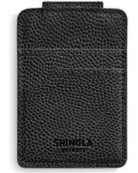 Shinola - Magnetic Leather Cardholder - Lyst