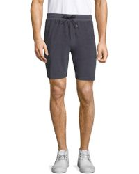 Theory | Essential Cotton Sweatshorts | Lyst