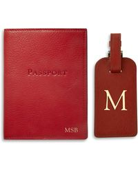 Graphic Image - Passport And Luggage Tag Set - Lyst