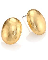 Stephanie Kantis - Nugget Medium Oval Earrings - Lyst