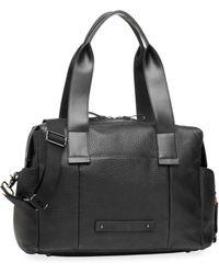 Storksak - Kym Leather Diaper Bag - Lyst