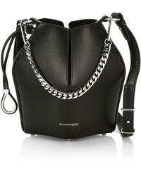 Alexander McQueen The Bucket Bag - Black