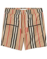 Burberry - Baby's & Little Boy's Conroy Icon Pajama Shorts - Lyst
