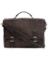 Frye Logan Top-handle Soft Leather Briefcase - Multicolor