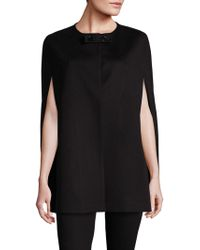 Saks Fifth Avenue - Anna Wool & Cashmere Cape - Lyst