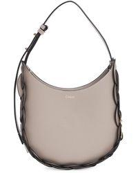 Chloé Small Darryl Leather Hobo Bag - Multicolor