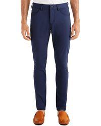 Rhone Five-pocket Commuter Pants - Blue