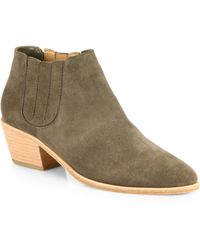 Joie - Barlow Suede Ankle Boots - Lyst