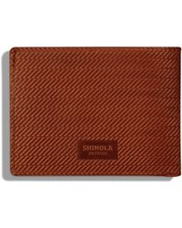 Shinola - Slim Bifold 2.0 Leather Wallet - Lyst