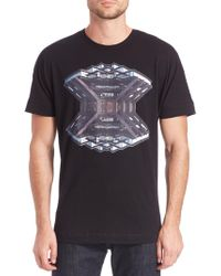 36 Pixcell - Library Graphic Tee - Lyst