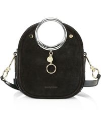 See By Chloé Mara Leather Ring-handle Tote - Black