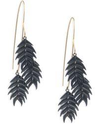 Annette Ferdinandsen - Organic Wild Oat Cluster Earrings - Lyst