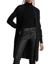 Polo Ralph Lauren Classic Wool-cashmere Cardigan - Black