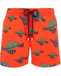 Vilebrequin Turtle Swim Shorts - Red