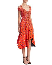 Peter Pilotto - Cady Dot-print Dress - Lyst