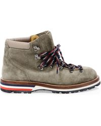 Moncler Peak Scarpa Suede Hiking Boots - Brown