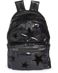Stella McCartney   Stars Zippered Backpack   Lyst