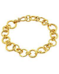 Gurhan 22k Yellow Gold Hoopla Bracelet - Metallic
