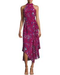 Parker - Jagger Floral Dress - Lyst