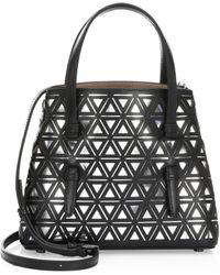 Alaïa - Micro Pyramid Leather Tote - Lyst