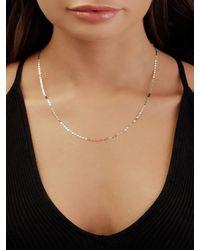 Lana Jewelry Petite Nude 14k Choker Necklace - Natural