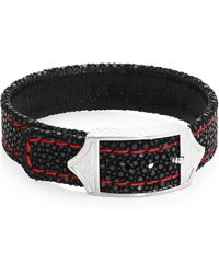 Stinghd | Luxe Stingray Leather Bracelet | Lyst