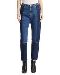McQ - Patch Denim Boyfriend Jeans - Lyst