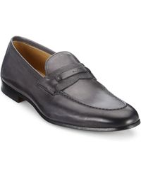 Saks Fifth Avenue - Collection By Magnanni Tri-media Penny Loafers - Lyst