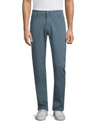 7 For All Mankind - Total Twill The Straight Chinos - Lyst