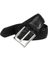 Saks Fifth Avenue - Leather Belt - Lyst