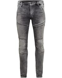 G-Star RAW D-rackam 3d Skinny Faded Jeans - Gray
