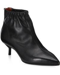 3.1 Phillip Lim - Blitz Leather Kitten-heel Boots - Lyst