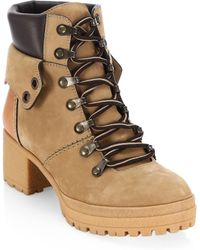 See By Chloé - Eileen Tan Platform Hiking Boots - Lyst