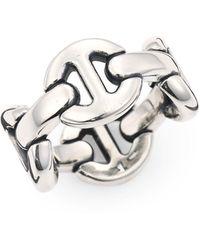 Hoorsenbuhs Quad-link Ring - Metallic