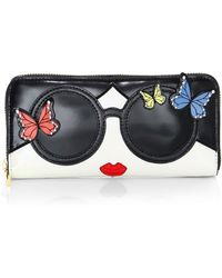 Alice + Olivia - Candice Staceface Wallet - Lyst