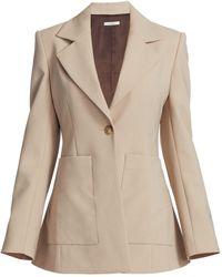 Co. Wool Blazer - Natural