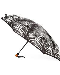 Saks Fifth Avenue Zebra-print Umbrella - Multicolour