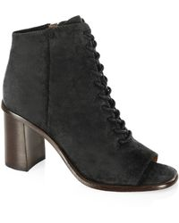 Frye | Amy Suede Ankle Boots | Lyst