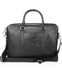 Shinola - Textured Leather Computer Briefcase - Lyst