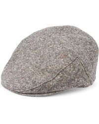 Saks Fifth Avenue - Collection Tweed Ivy Cap With Ear Flaps - Lyst