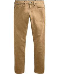 Polo Ralph Lauren Sullivan Stretch Twill Pants - Natural