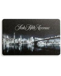 Saks Fifth Avenue Cityscape Gift Card - Multicolor