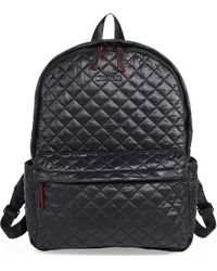 MZ Wallace - Oxford Small Quilted Nylon Backpack - Lyst