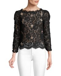 Joie - Aina Jewel Lace Top - Lyst