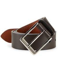 Shinola Lightning Leather Belt - Brown