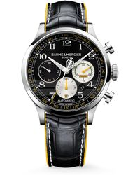 Baume & Mercier - Capeland Shelby® Cobra 10282 Limited Edition Stainless Steel & Alligator Strap Watch - Lyst