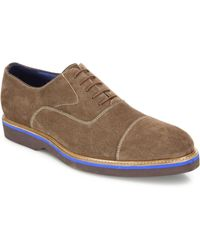 Saks Fifth Avenue - Suede Lace-up Dress Shoes - Lyst