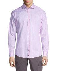 Strellson - Slim-fit Sereno Cotton Sport Shirt - Lyst
