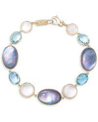 Ippolita Rock Candy® 18k Yellow Gold & Mixed-stone Link Bracelet - Metallic