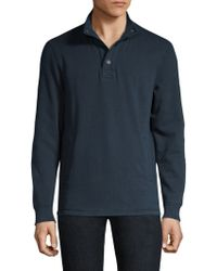 Barbour - Snap-front Pullover - Lyst